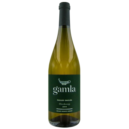 GOLAN HEIGHTS WINERY - CHARDONNAY CASHER - GAMLA 2015