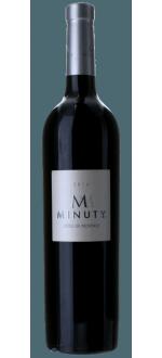M DE MINUTY ROUGE 2015