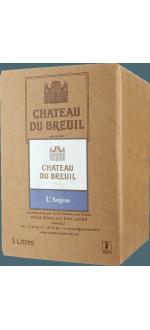 BIB - CHATEAU DU BREUIL - ANJOU ROUGE 2015