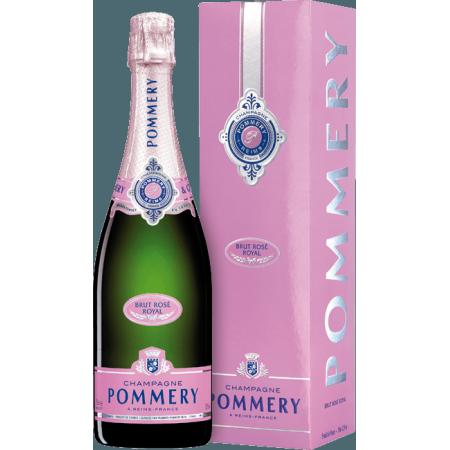 CHAMPAGNE POMMERY - BRUT ROSE - EN ETUI