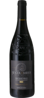 VACQUEYRAS TRADITION 2015 - DOMAINE LE COLOMBIER
