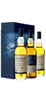 TALISKER TRIPLEPACK 3*20CL 10 YO + DISTILLERS EDITION + 57'NORTH