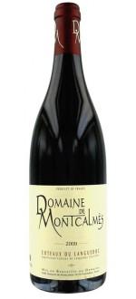 DOMAINE DE MONTCALMES 2012 (France - Vin Languedoc - Terrasses du Larzac Coteaux du Languedoc AOC - Vin Rouge - 0,75 L)