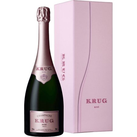 CHAMPAGNE KRUG - ROSE - COFFRET LUXE EDITION 22