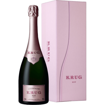 CHAMPAGNE KRUG - ROSE - COFFRET LUXE