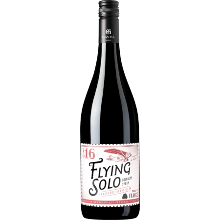 FLYING SOLO ROUGE 2016 - DOMAINE GAYDA