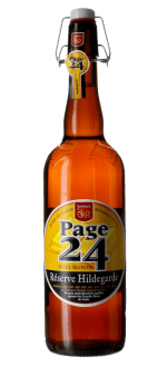 PAGE 24 RESERVE HILDEGARDE BLONDE 75CL - BRASSERIE SAINT GERMAIN