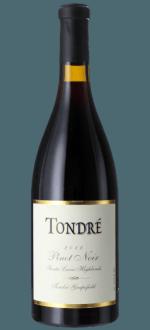 TONDRE WINES - PINOT NOIR 2010