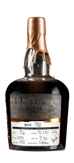RHUM DICTADOR BEST OF 1980