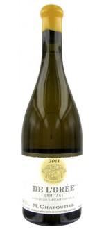 ERMITAGE DE L'OREE 2011 - LES PARCELLAIRES MICHEL CHAPOUTIER (France - Vin BIO Rhône - Ermitage AOC - Vin BIO Blanc - 0,75 L)