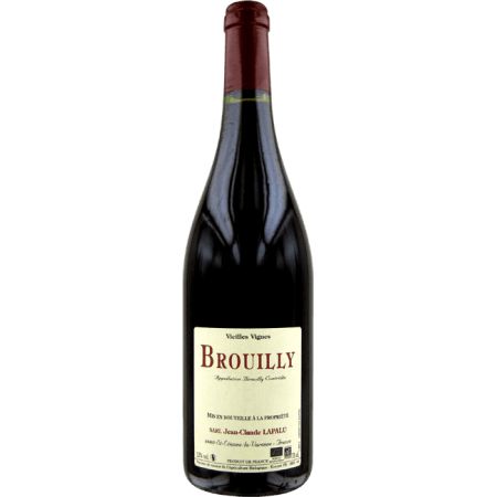 BROUILLY VIEILLES VIGNES 2016 - JEAN-CLAUDE LAPALU