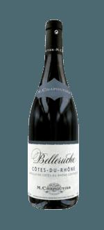 BELLERUCHE ROUGE 2016 - MICHEL CHAPOUTIER