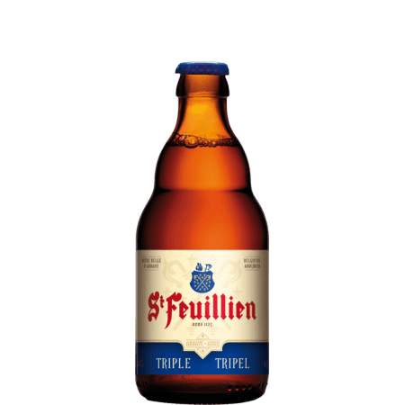 SAINT FEUILLIEN TRIPLE 33CL - BRASSERIE SAINT FEUILLIEN