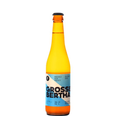 GROSSE BERTHA 33CL - BRUSSELS BEER PROJECT