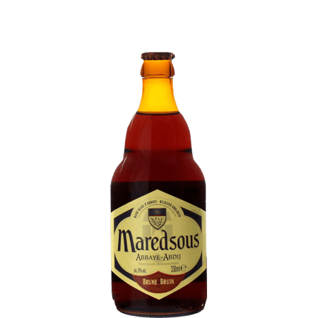 MAREDSOUS 8 BRUNE 33CL - ABBAYE DE MAREDSOUS