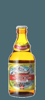 BLONDE DU MONT-BLANC 33CL - BRASSERIE DU MONT-BLANC