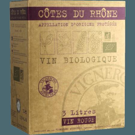 CUBI COTES DU RHONE BIO - VIGNERONS ARDÉCHOIS