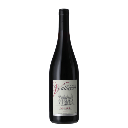 CHATEAU DE VALLAGON - TOURAINE ROUGE 2015