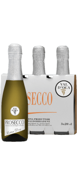 VAL D'OCA - KIT 3 BOUTEILLES - BIRILLINI ARGENTO - PROSECCO DOC - EXTRA DRY