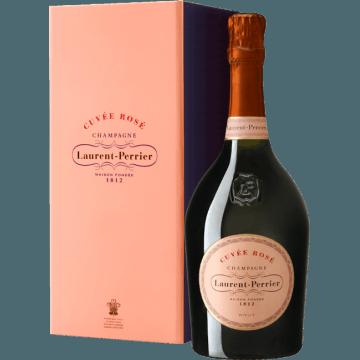 CHAMPAGNE LAURENT-PERRIER - BRUT ROSE COFFRET