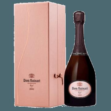 CHAMPAGNE DOM RUINART ROSE 2002 - COFFRET LUXE