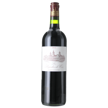LES PAGODES DE COS 2011 - SECOND VIN DU CHATEAU COS D'ESTOURNEL