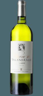 VIRGINIE DE VALANDRAUD BLANC 2014 - SECOND VIN DE BLANC DE VALANDRAUD