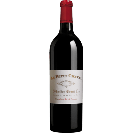LE PETIT CHEVAL 2010 - SECOND VIN DU CHATEAU CHEVAL BLANC