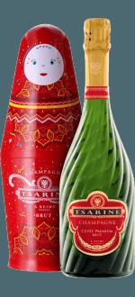 CHAMPAGNE TSARINE - CUVEE PREMIUM - COFFRET POUPEE RUSSE