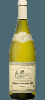 CHABLIS 1er CRU VAILLONS 2015 - DOMAINE DU CHARDONNAY