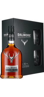 DALMORE 15 ANS - COFFRET 2 VERRES
