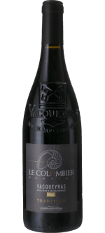 VACQUEYRAS TRADITION 2017 - DOMAINE LE COLOMBIER