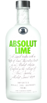 ABSOLUT LIME - ABSOLUT VODKA