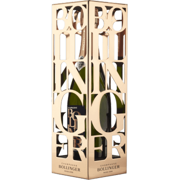 CHAMPAGNE BOLLINGER - ROSE 2006 - COFFRET METAL