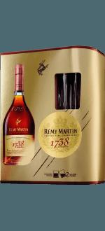 REMY MARTIN 1738 - EN COFFRET 2 VERRES