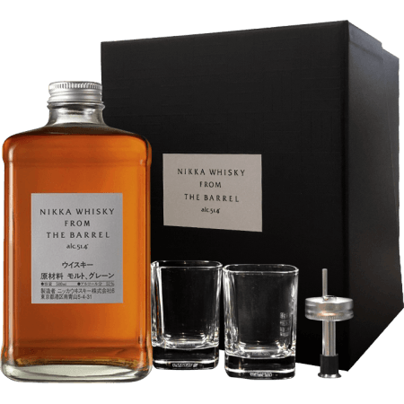 acheter le whisky japonais nikka from the barrel en coffret. Black Bedroom Furniture Sets. Home Design Ideas