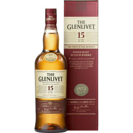 THE GLENLIVET FRENCH OAK 15 ANS - EN ETUI