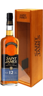 SAINT JAMES RHUM VIEUX 12 ANS - ETUI BOIS