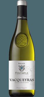VACQUEYRAS BLANC - SEIGNEUR DE FONTIMPLE 2016 - RHONEA