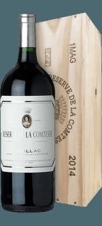 MAGNUM RESERVE DE LA COMTESSE 2014 - SECOND VIN DU CHATEAU PICHON LONGUEVILLE COMTESSE DE LALANDE