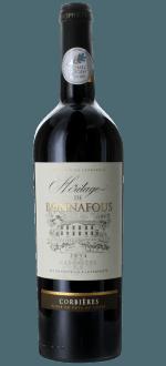 HERITAGE DE BONNAFOUS 2015 - MAITRES VIGNERONS DE CASCASTEL