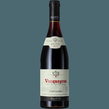 VACQUEYRAS BOUVENCOURT 2015 - MAISON BROTTE