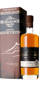WHISKY FRANCAIS G.ROZELIEURES - FUME COLLECTION - EN ÉTUI