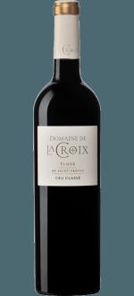 ELOGE ROUGE 2015 - DOMAINE DE LA CROIX - Cru Classé