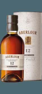 ABERLOUR 12 ANS - NON CHILL FILTERED - EN ETUI