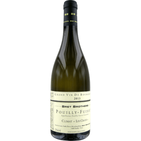 POUILLY-FUISSE - LES CRAYS 2016 - BRET BROTHERS