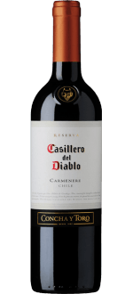 CASILLERO DEL DIABLO - CONCHA Y TORO - RESERVA CARMENERE 2016