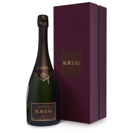 CHAMPAGNE KRUG - VINTAGE 2004 - COFFRET LUXE