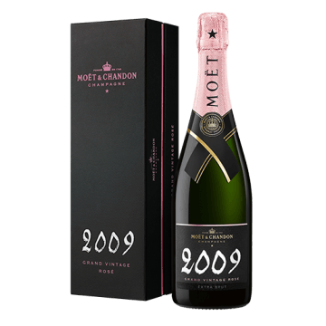 CHAMPAGNE MOET ET CHANDON - GRAND VINTAGE ROSE 2009 - EN COFFRET