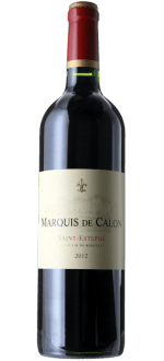 MARQUIS DE CALON 2012 - SECOND VIN DU CHATEAU CALON SEGUR